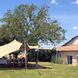 Jardin - Location de vacances - Civrieux