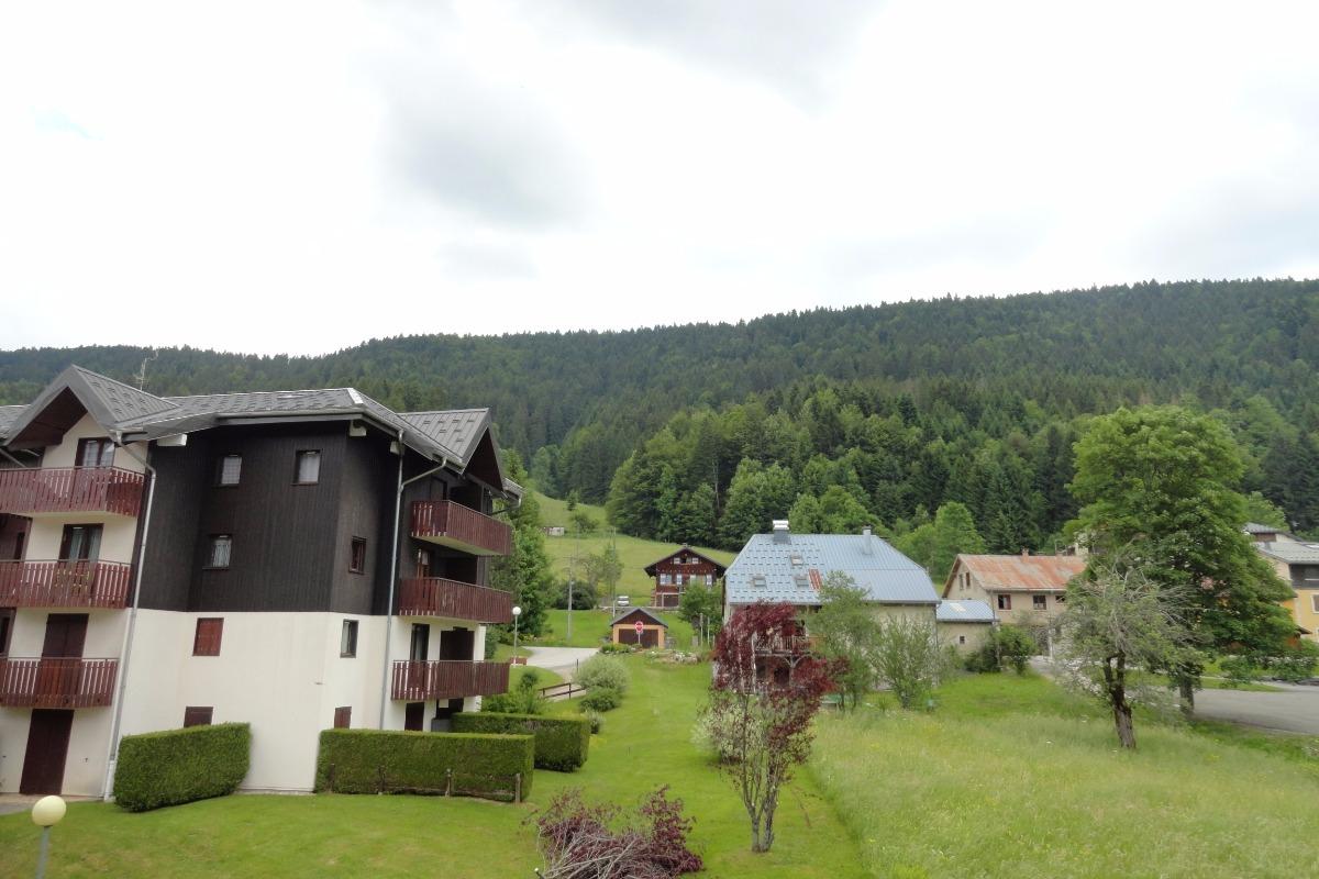 Vue montagne été - Location de vacances - Mijoux