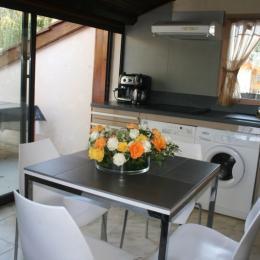 La cuisine - Location de vacances - Villette-sur-Ain