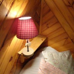Chambre avec 2 lits de 90 - Location de vacances - Lélex