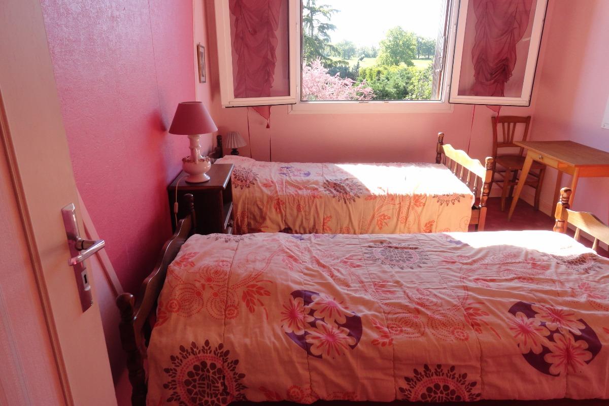 Chambre - L'Igloo - Location de vacances - Saint-Bernard