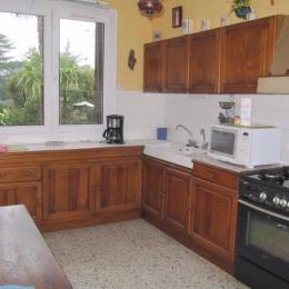 Cuisine - L'Igloo - Location de vacances - Saint-Bernard