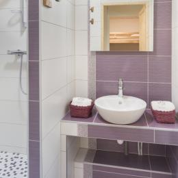 Salle d'eau à l'italienne - Location de vacances - Mijoux