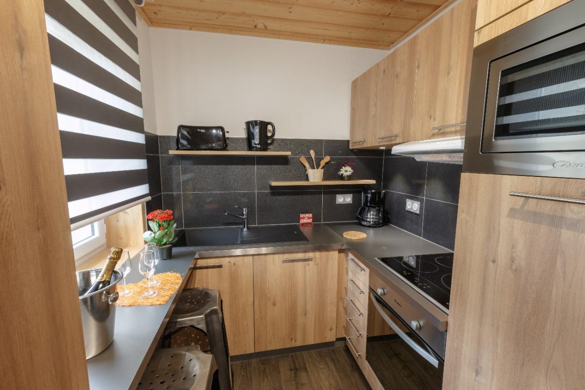 Vue sur cuisine - Location de vacances - Mijoux