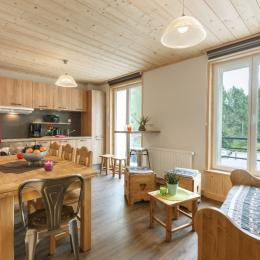 Cuisine moderne et chaleureuse - Location de vacances - Mijoux