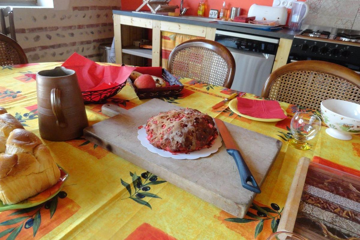 Ferme Passion Chambre Bugey - Petit-déjeuner - Chambre d'hôtes - Saint-Trivier-sur-Moignans
