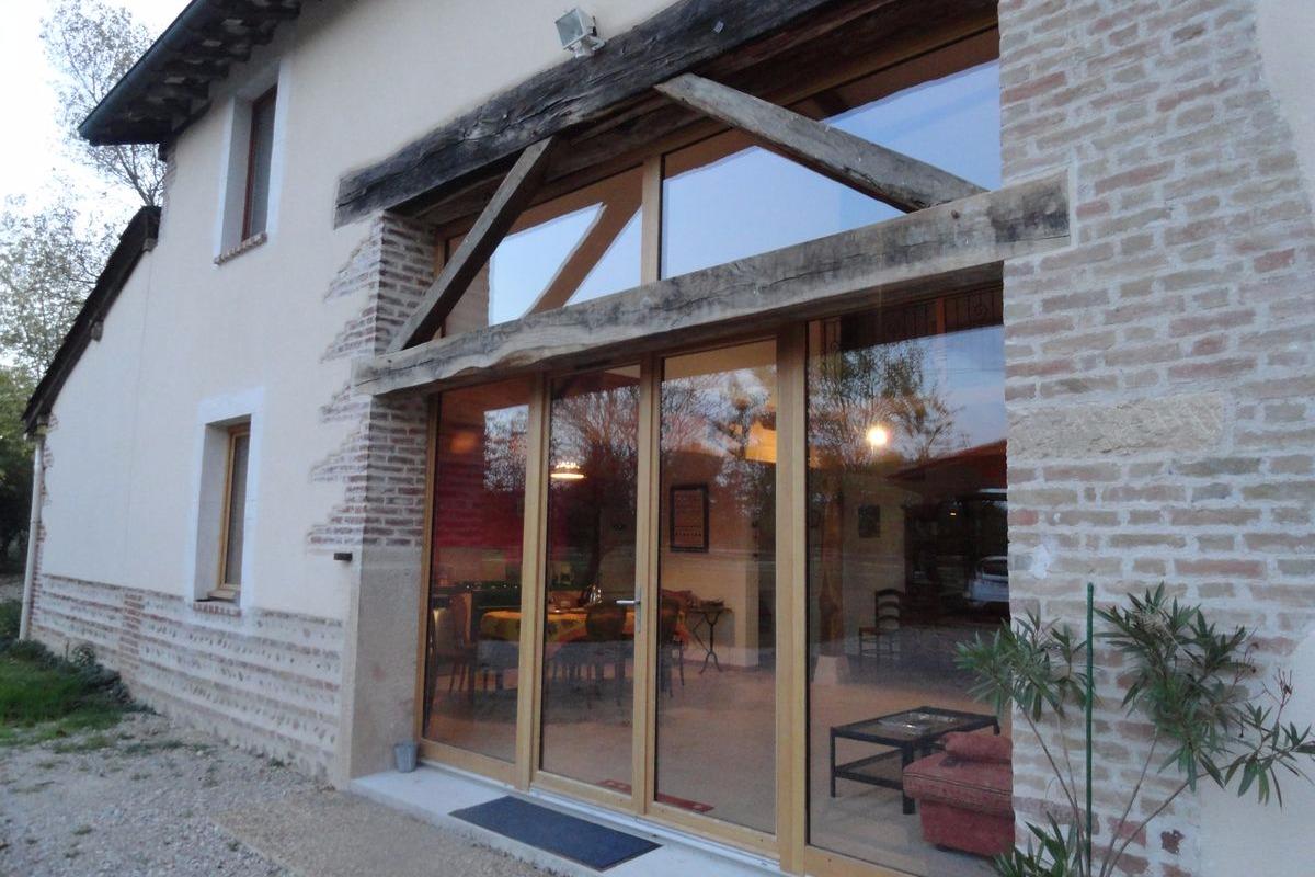 Ferme Passion Chambre Bugey - Entrée - Chambre d'hôtes - Saint-Trivier-sur-Moignans