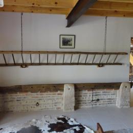 Ferme Passion Chambre Bugey - Décor Râtelier - Chambre d'hôtes - Saint-Trivier-sur-Moignans