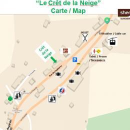 Le Crêt de la Neige - Location de vacances - Lélex