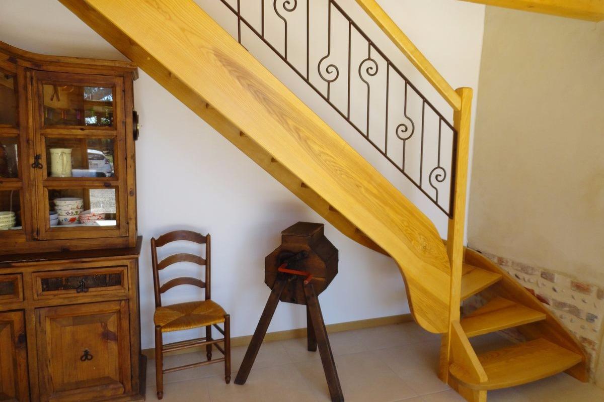Ferme Passion - Chambre Dombes -Accès chambres étage - Chambre d'hôtes - Saint-Trivier-sur-Moignans