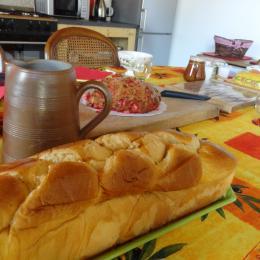 Ferme Passion - Chambre Dombes - Petit-déjeuner - Chambre d'hôtes - Saint-Trivier-sur-Moignans