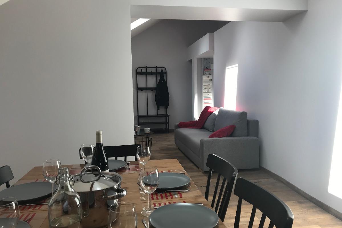 L'espace salon - Location de vacances - Lélex