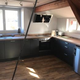 La cuisine - Location de vacances - Lélex