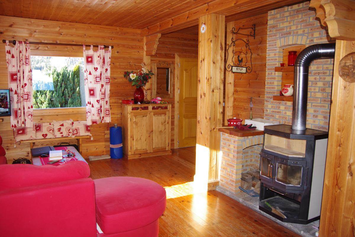 Chalet Courte Planche - Entrée Salon - Location de vacances - Mijoux