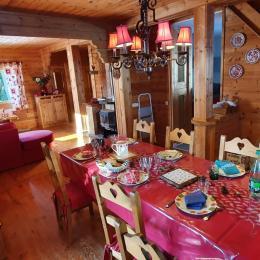Chalet Courte Planche  - Séjour - Location de vacances - Mijoux