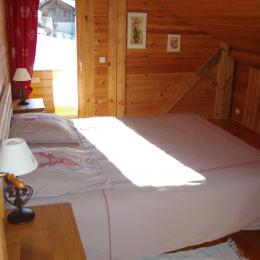 Chalet Courte Planche - balcon chambre étage - Location de vacances - Mijoux