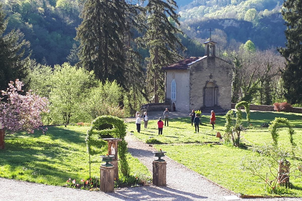 Vue sur le parc  - Chambre d'hôtes - Saint-Rambert-en-Bugey
