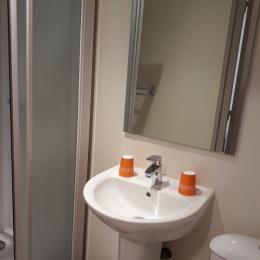 Salle de bain  - Chambre d'hôtes - Saint-Rambert-en-Bugey