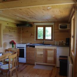 Cuisine Tiny house - Location de vacances - Tossiat