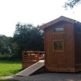 Séjour - Tiny house - Location de vacances - Tossiat