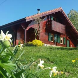 Chalet Chez Léon, havre de paix dans le jardin - Location de vacances - Cessy