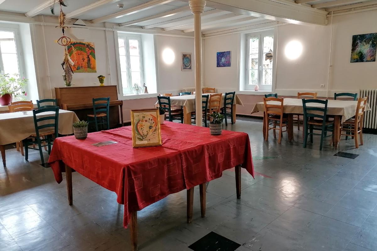 salle à manger - Location de vacances - Ruffieu