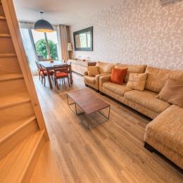 Chambre avec 1 lit double 160 (draps fournis) - Location de vacances - Mesnil-Saint-Père