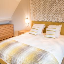 Chambre 1 (Etage) - Lit double (draps fournis) - Location de vacances - Mesnil-Saint-Père