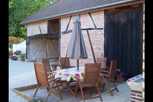 La façade de la Colin'Othe - Location de vacances - Bucey-en-Othe