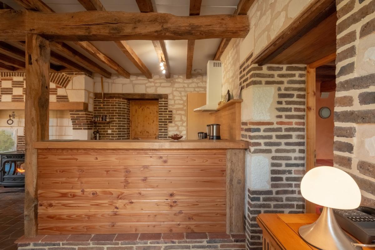 La Chambre Orangée (1-4 pers) aménagée pour personnes à mobilité réduite