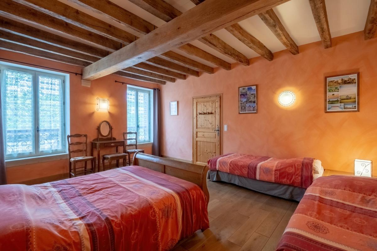 La chambre Soleil de Chaux (1-2 personnes)