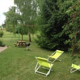 Profitez des espaces verts ! - Location de vacances - Dienville