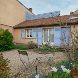 La Chambre côté jardin privatif - Chambre d'hôtes - Sainte-Savine