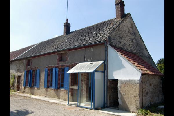 entrée principale - Location de vacances - Ferreux-Quincey
