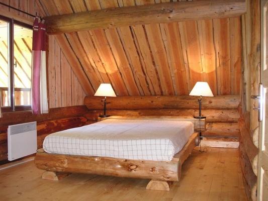 chambre 2 places chalet 1 - Location de vacances - Essoyes