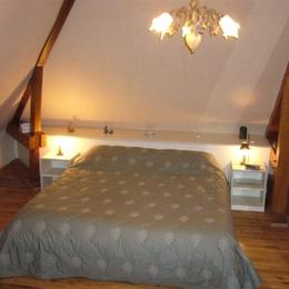 Cadole avec lit Queen Size (180x200) salle de bains accolée  - Chambre d'hôtes - Saint-André-les-Vergers