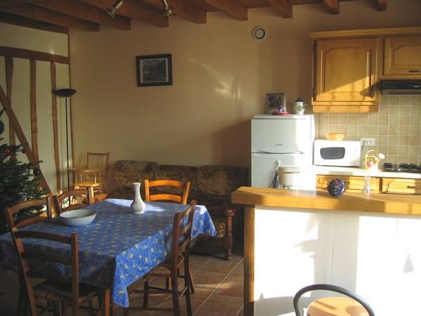 Pièce principale - Location de vacances - Saint-Remy-sous-Barbuise