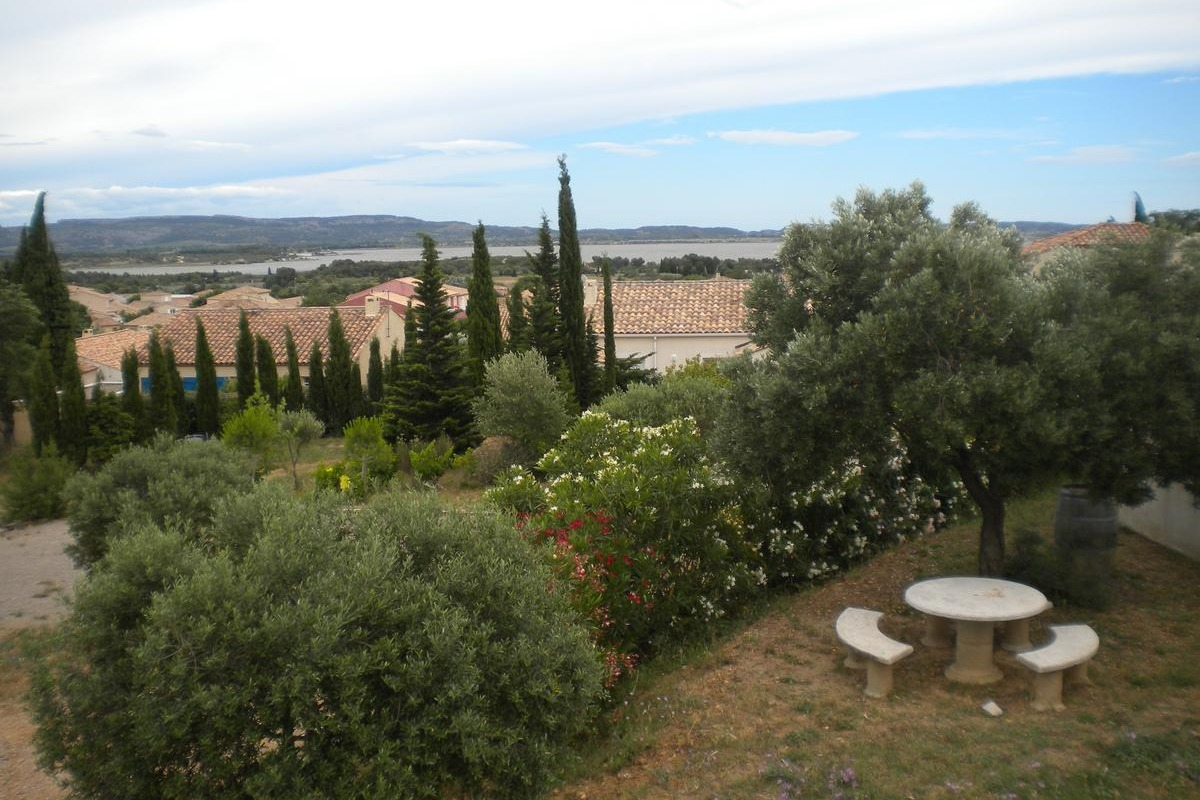 Vue depuis le site - Chambre d'hôtes - Narbonne