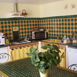 Cuisine commune - Chambre d'hôtes - Narbonne