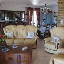 SALON AU PREMIER - Chambre d'hôtes - Cuxac-d'Aude