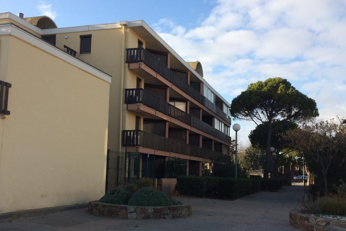 Vue de la résidence - Location de vacances - Gruissan Port