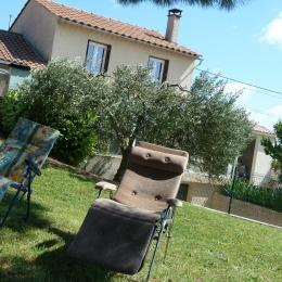 jardin commun avec le propriétaire - Location de vacances - Lasserre-de-Prouille