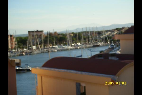 VUE SUR LE PORT - Location de vacances - Gruissan Port