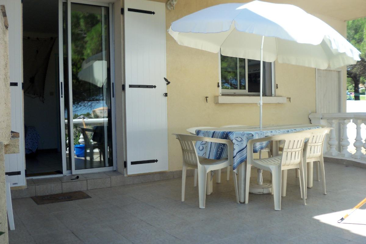 Terrasse extérieure - Location de vacances - Saint Pierre La Mer