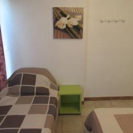 Chambre (3 couchages) - Location de vacances - Saint Pierre La Mer
