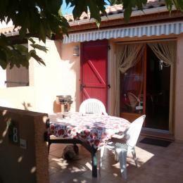 Terrasse avant - Location de vacances - Narbonne Plage