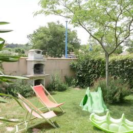 terrasse sud  - Location de vacances - Villegailhenc