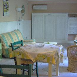 la pièce avec son couchage en 140 rabattu - Location de vacances - Carcassonne
