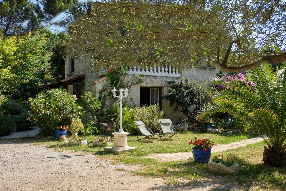 terrasse privée avec entrée appartement - Location de vacances - Carcassonne