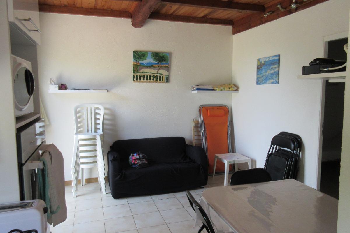 Chambre parentale avec placard - Location de vacances - Saint Pierre La Mer